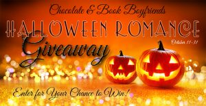 Giveaway timed to Halloween brings book treats and chocolate, too